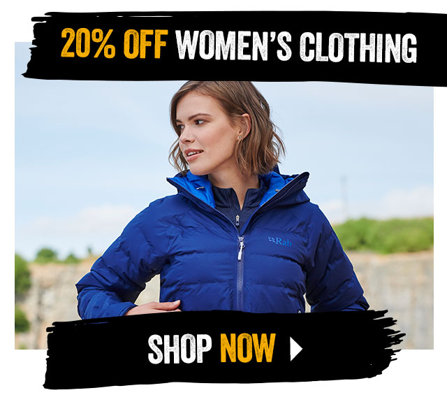 20% off Women's Clothing