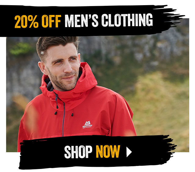 20% off Men's Clothing