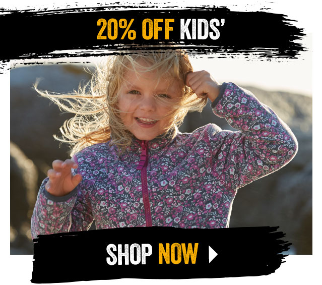 20% off Kids