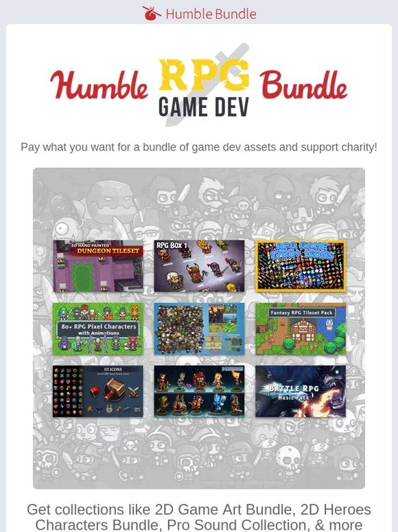 Humble Bundle: Your greatest asset: the new Humble RPG Game Dev
