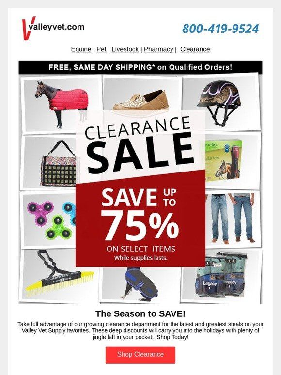 Valley Vet Supply: Up to 75% Off Clearance | Milled