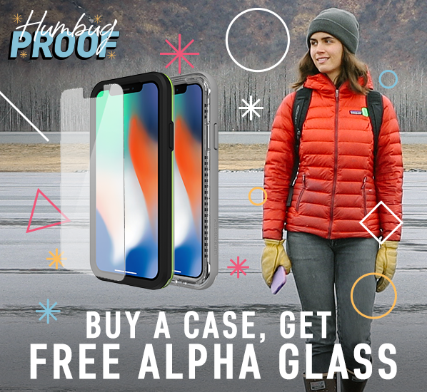 Buy a case, get a free alpha glass
