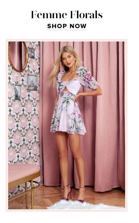 Femme Florals. Shop now.