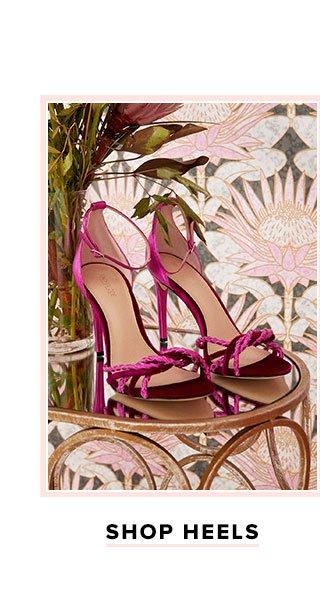 The Fine Details. Shop heels.