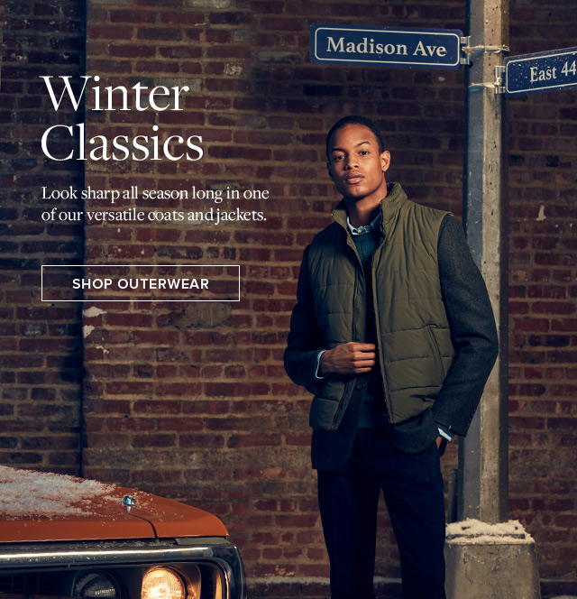 WINTER CLASSICS SHOP OUTERWEAR