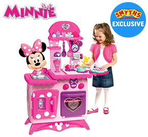 Disney Minnie Mouse Flipping Fun Kitchen