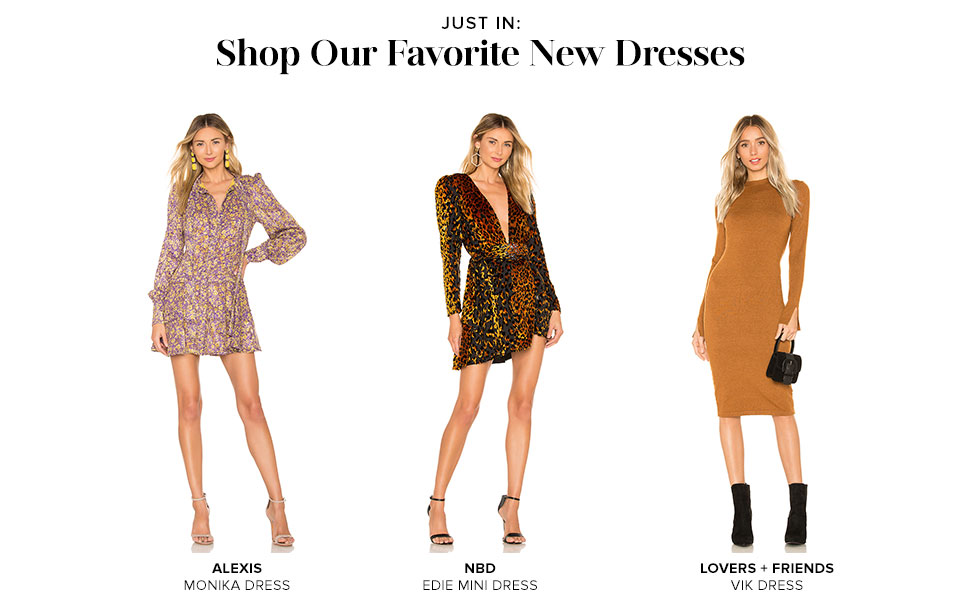 Shop Our Favorite New Dresses
