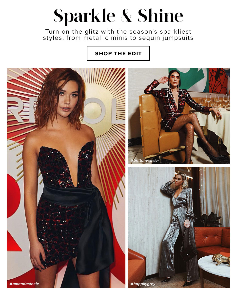 Sparkle And Shine - Shop The Edit