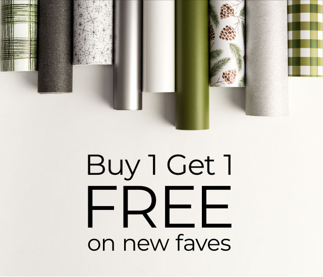 Buy 1 Get 1 FREE on new faves.