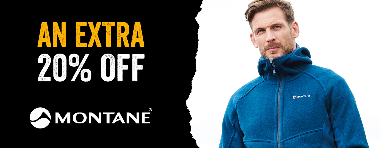 An Extra 20% Off Montane
