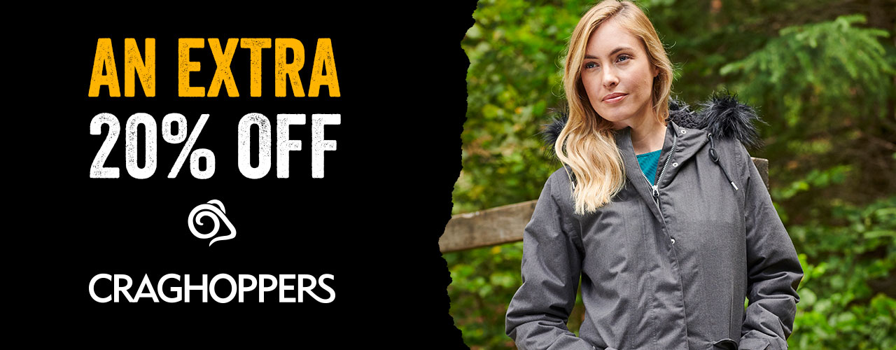 An Extra 20% Off Craghoppers