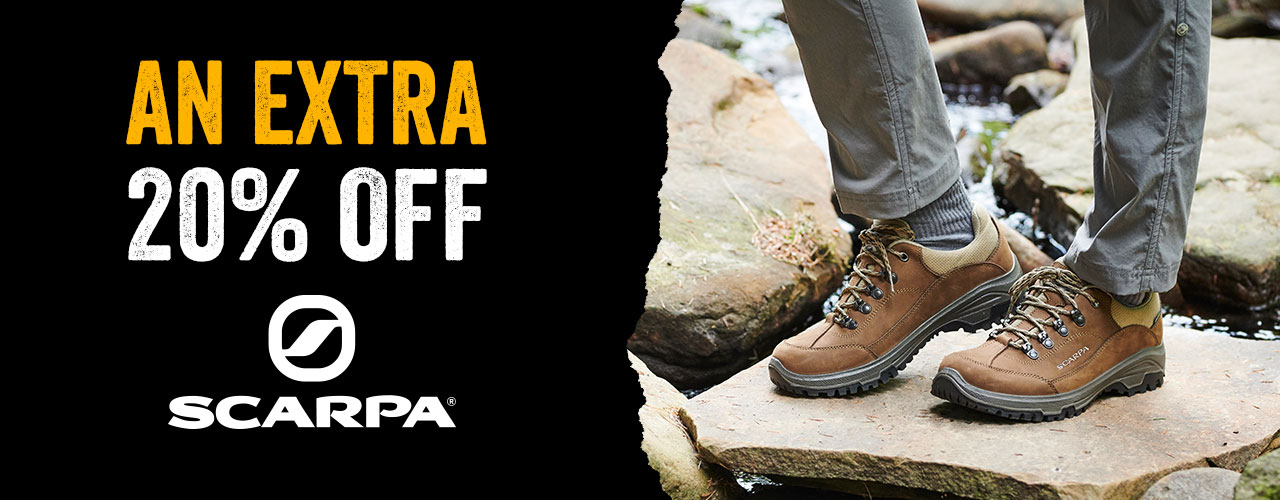 An Extra 20% Off Scarpa