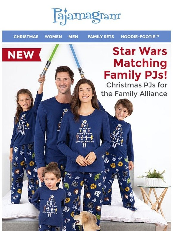 5d441765bed1 Pajamagram  The  1 Christmas Gift in the Galaxy  NEW Star Wars Matching  Family Pajamas!