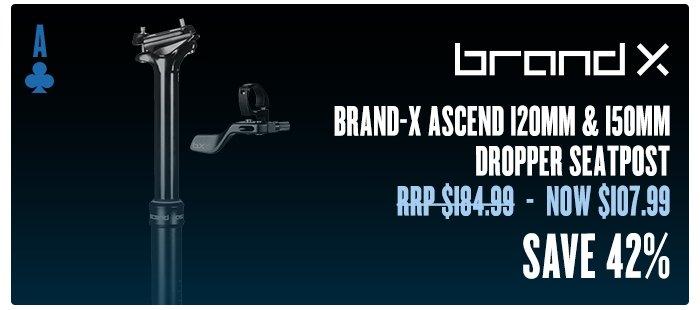 Brand-X Ascend 120mm & 150mm Dropper Seatpost