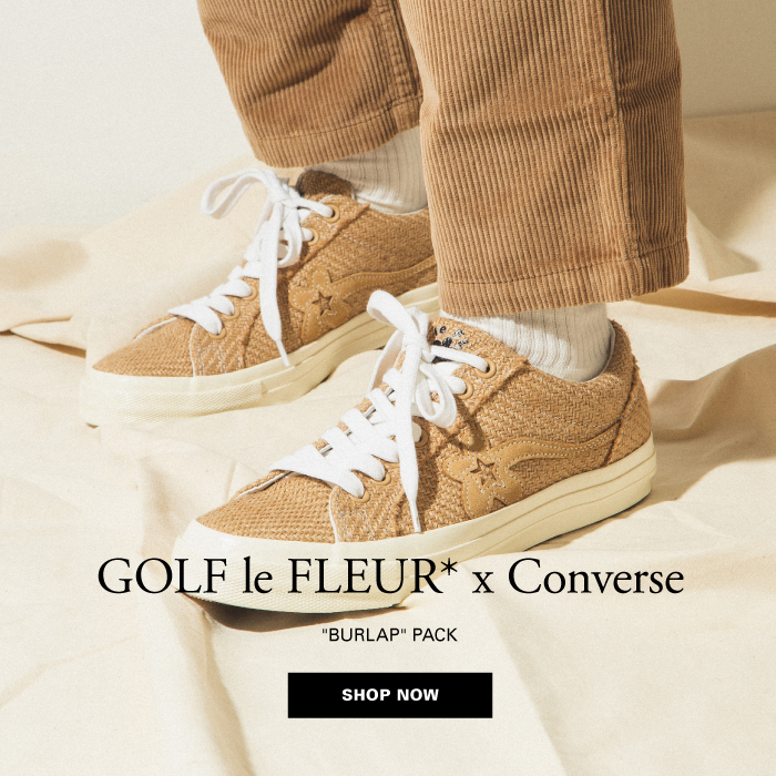 Hbx Special Release Golf Le Fleur X Converse Burlap Pack Milled