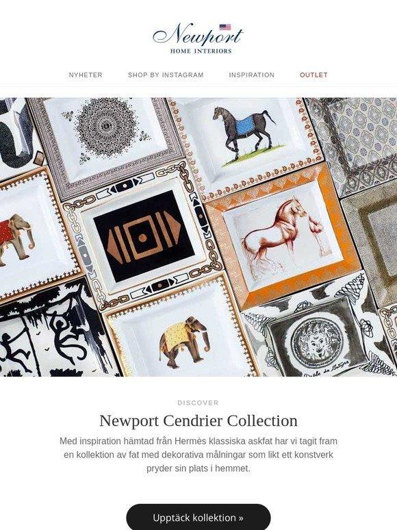Newport SE  The Cendrier Collection – vackra fat med unika motiv ... b62b33a99788f