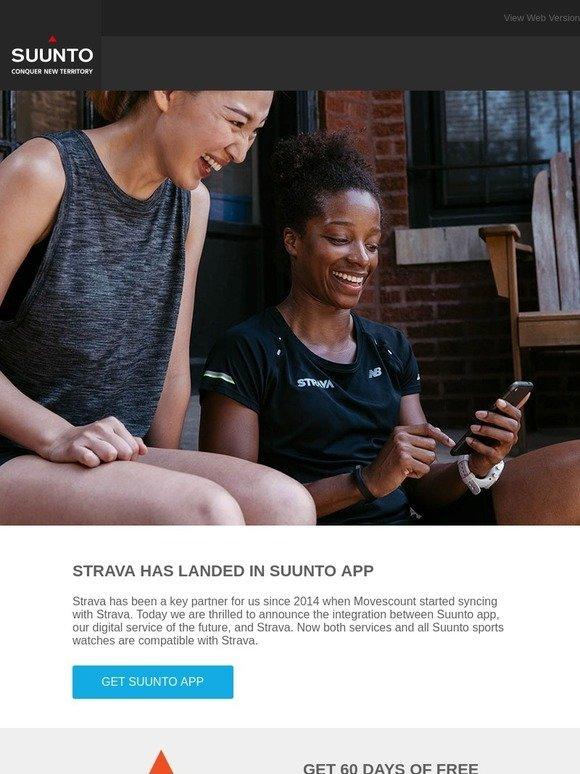Suunto: Strava has landed in Suunto app | Milled