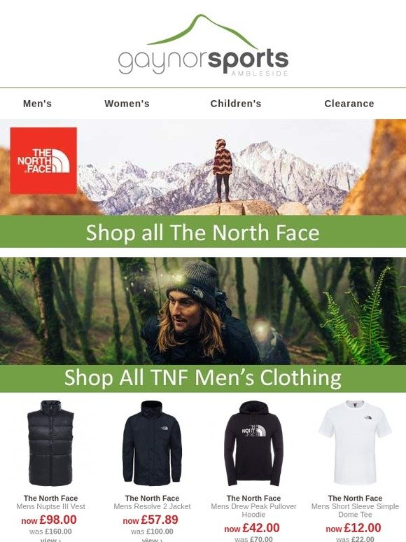 ff5ee90f3 www.gaynors.co.uk: The North Face winter essentials | Milled