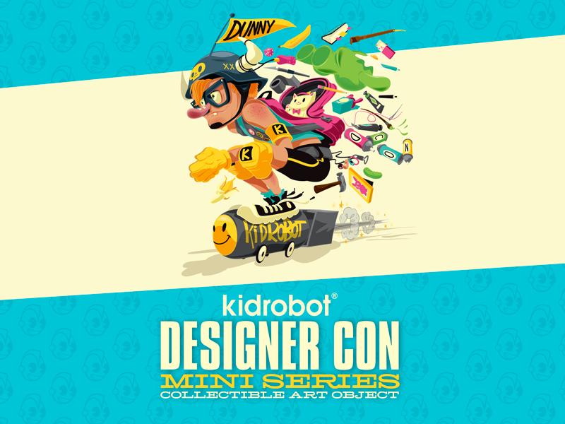 Brand New Kidrobot Designer Con Dunny Series DCON Kung Fu Kano