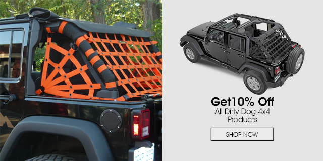10% Off all Dirty Dog 4x4 products