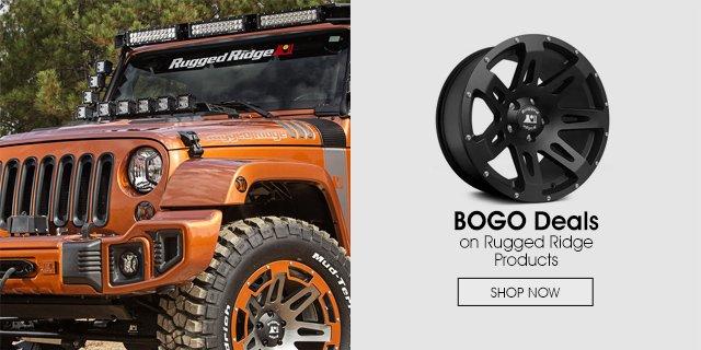 Rugged Ridge BOGO deals