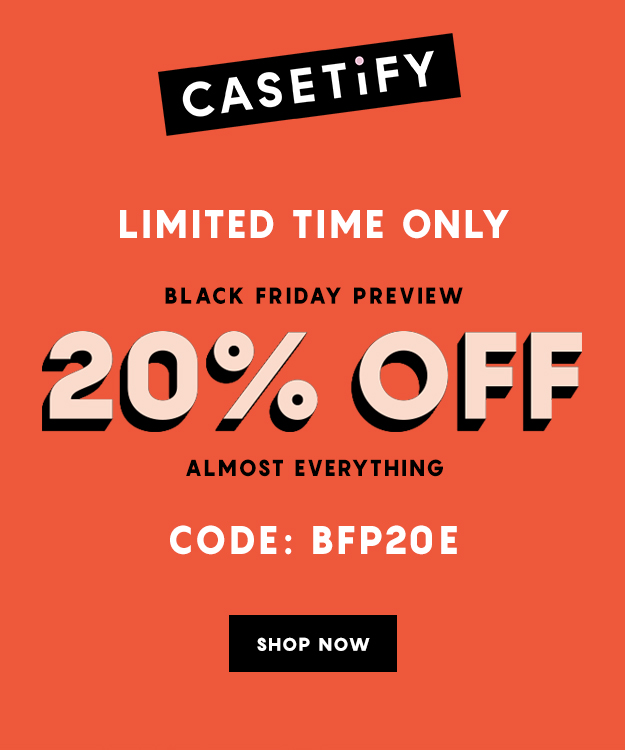 hot sale online 43346 72fe3 Casetify: The Black Friday Preview Sale | Milled