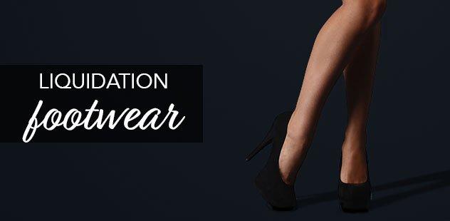 LIQUIDATION: FOOTWEAR