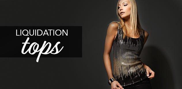 LIQUIDATION: LADIES' TOPS