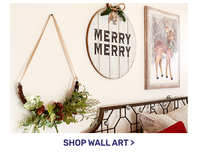 Shop wall art.