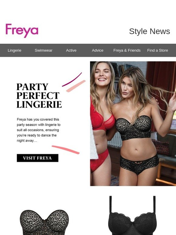 9c89e8d0fe025 Freya: Party Perfect Lingerie | Milled
