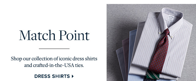 MATCH POINT | DRESS SHIRTS