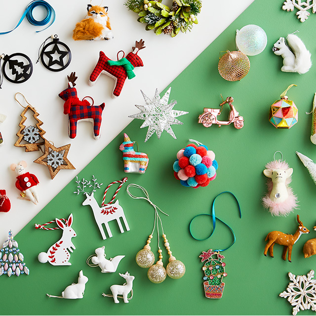 Shop ornaments.