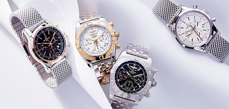 Vintage Watches With Breitling