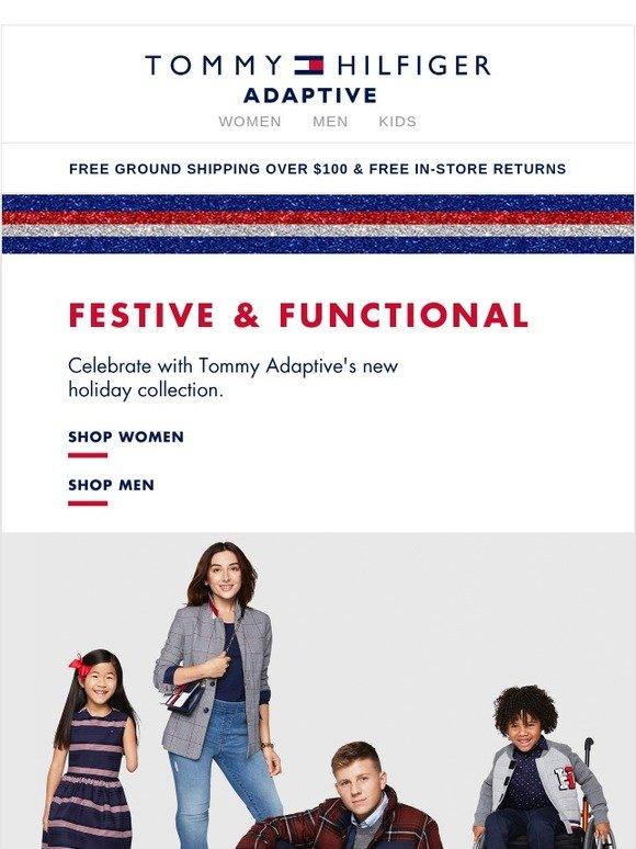6900bd26b Tommy Hilfiger  Tommy Adaptive 🎁 Holiday is here!