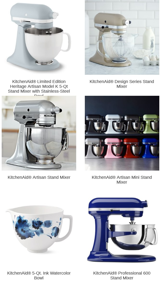 Williams Sonoma You Ve Earned The Kitchenaid R Limited Edition