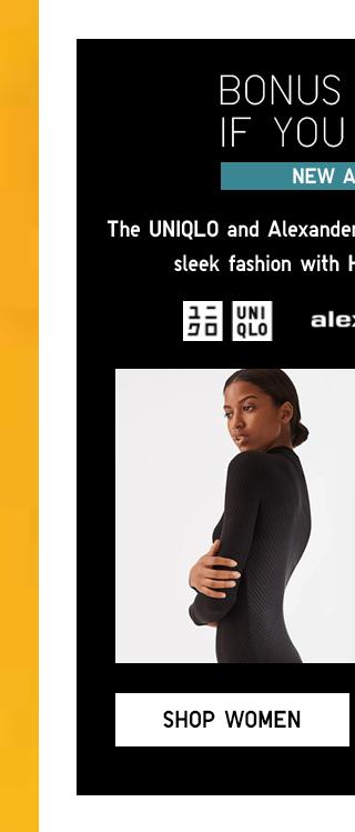 NEW ARRIVAL UNIQLO ALEXANDERWANG - SHOP WOMEN