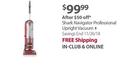 Shark Navigator Professional Upright Vacuum