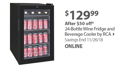 Frigidaire 24-Bottle Beverage Cooler