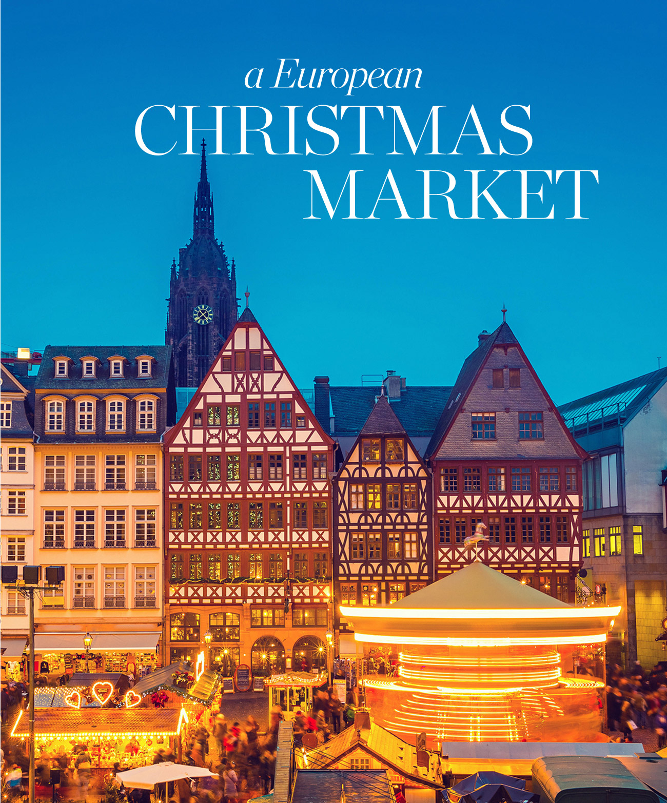 a European CHRISTMAS MARKET