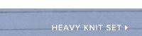 HEAVY KNIT SET