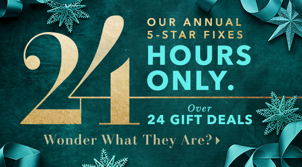 24-HOUR ★ GIFT DEALS ★ ARE (OFFICIALLY) ON.