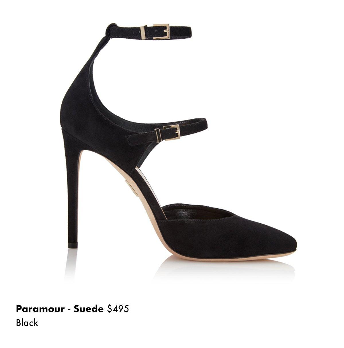 Paramour - Suede Black
