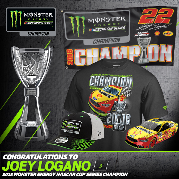 NASCAR Online Superstore  Joey Logano 2018 Monster Energy Nascar Cup ... e23dc3512