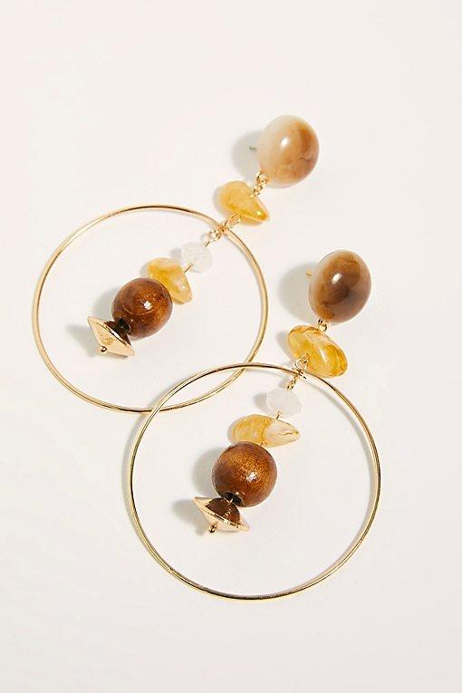 Seneca Hoop Earrings