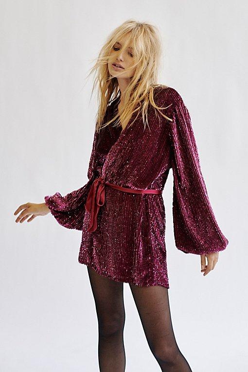 Annmarie Sequins Mini Dress