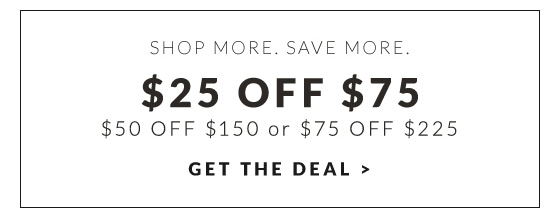 Save $25 Now!