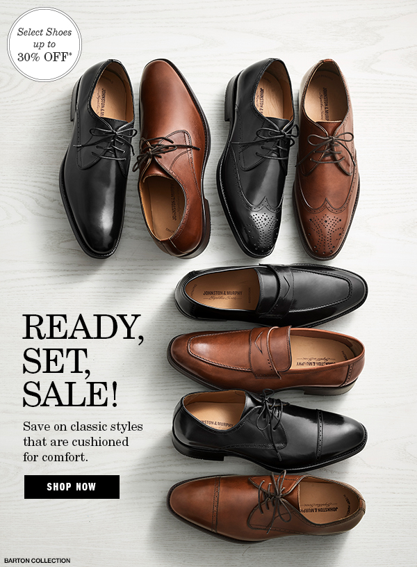 Save Up to 30% on Dress Shoes.   Milled