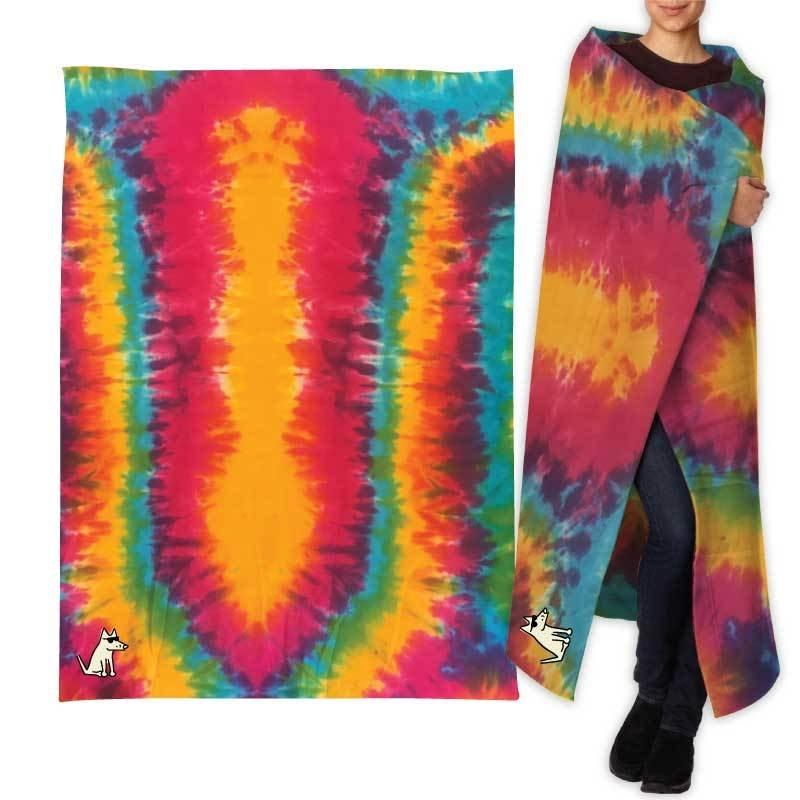 e4dd0e9289e Teddy s Special Edition Sweatshirt Blanket - Rainbow Swirl