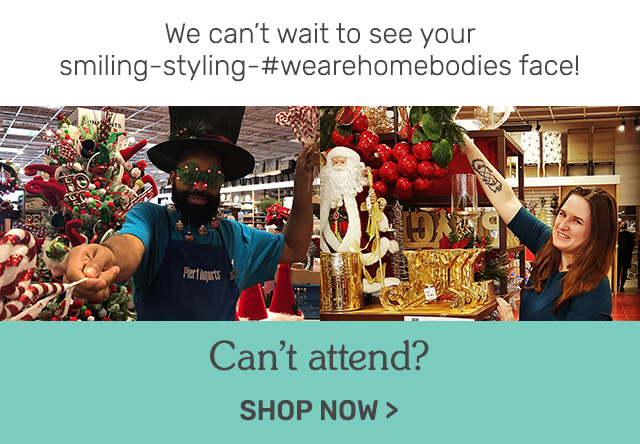 Can't attend? Shop now.