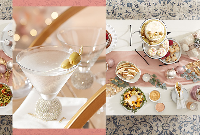 Get inspired by modern savvy holidiay decor.